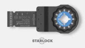 Bosch Starlock Oscillating Multi-Tool Blades
