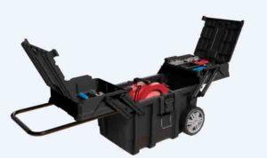 Husky 15 Gallon Cantilever Mobile Cart