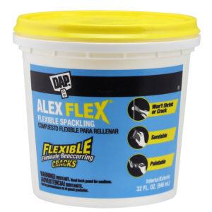 Dap ALEX Plus and ALEX Flex Spackling