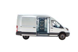 DeWalt ToughSystem Van Storage