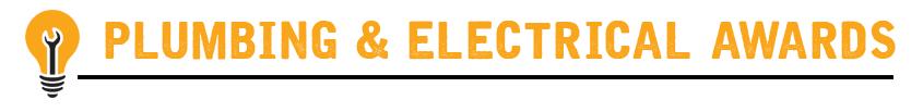 2018 Plumbing and Electrical Awards
