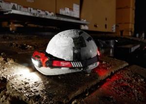 Milwaukee 360 Degree VIS Hard Hat Headlamp USB Rechargeable