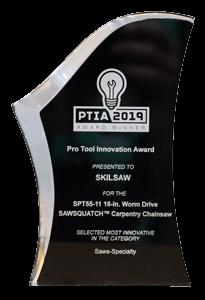 2019 PTIA acrylic award